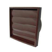 KRZ Ø100/125 /brown решітка витяжна з жалюзі